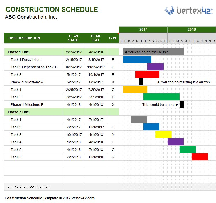 Jon Wittwer On Twitter This New Construction Schedule