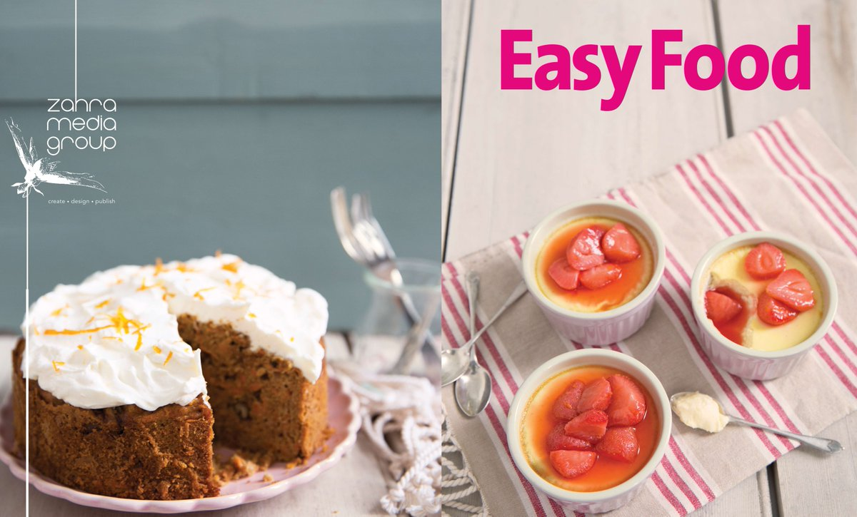Easy food magazine easyfoodmag twitter for Cuisine zahra