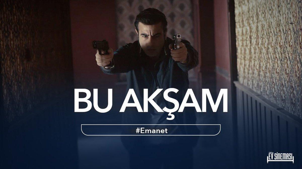 #Emanet filmi Tv'de ilk kez bu akşam 22.00'de #TRT1'de!  #TRTEvSinemas...