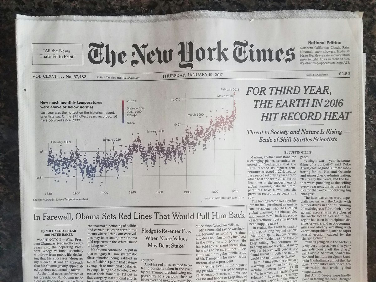 Great to see a climate story above the fold in the @nytimes. Great job @JustinHGillis. Thanks. https://t.co/ToZzKFXzen