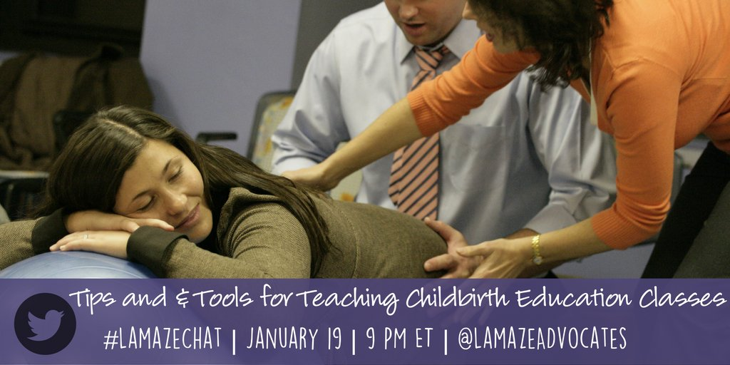 You usually follow our #LamazeChat at @LamazeOnline, but this month @RobinPregnancy will host the chat HERE! Follow along at 9pm ET tonight! https://t.co/0tqymxUKKB