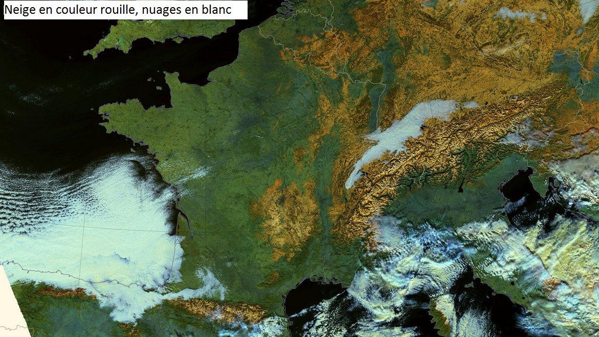Couverture neigeuse sur la France ce jeudi 19 janvier #snow #cover #Suomi #satellite #nuages #meteo #vaguedefroid<br>http://pic.twitter.com/vxWq6hbGEj