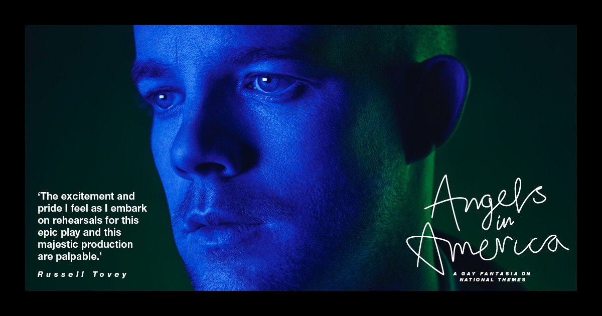 Finally, here's @russelltovey. #AngelsinAmerica https://t.co/tYId5NiQi...