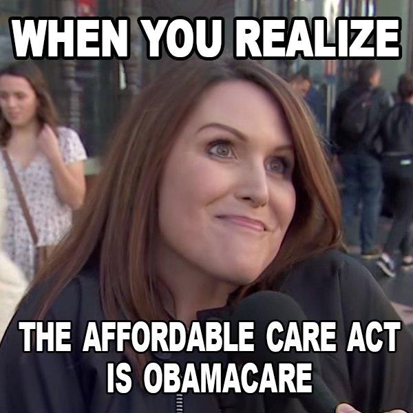 ACA ObamaCare Brunette Fail  https:// politicslol.com/humor/aca-obam acare-brunette-fail-lol/ &nbsp; …  @jimmykimmel #aca #obamacare #gop #affordablecareact #fail #reddit #trump #memes<br>http://pic.twitter.com/YbE2AZzzaR