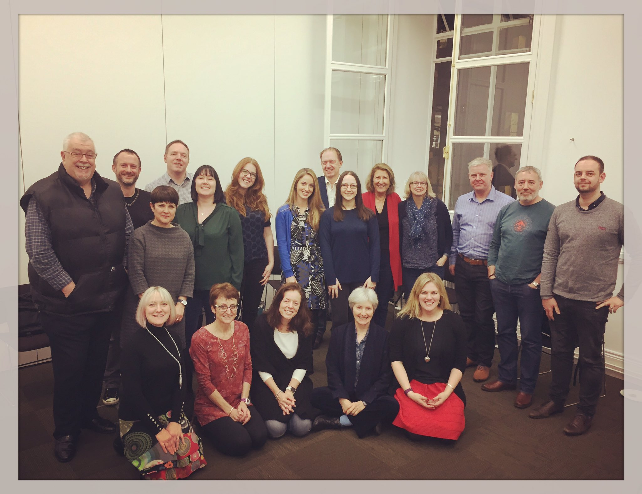 Image: The Facilitation Shindig participants (Image from Julie Drybrough)