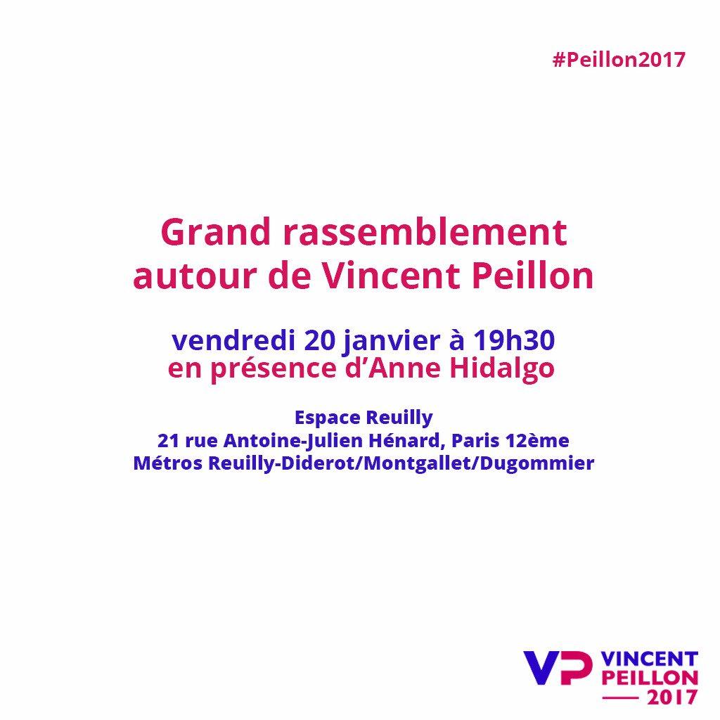 J-1 avant le grand rassemblement des républicains et progressistes en présence d&#39;@Anne_Hidalgo et de tous mes soutiens ! #Paris #Peillon2017<br>http://pic.twitter.com/Ropfggh45L