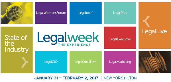 RT @ALMMedia Want to know who is speaking @Legalweekshow this year? Review our schedule here: #Legalweek17 https://t.co/2kSBflPqU5