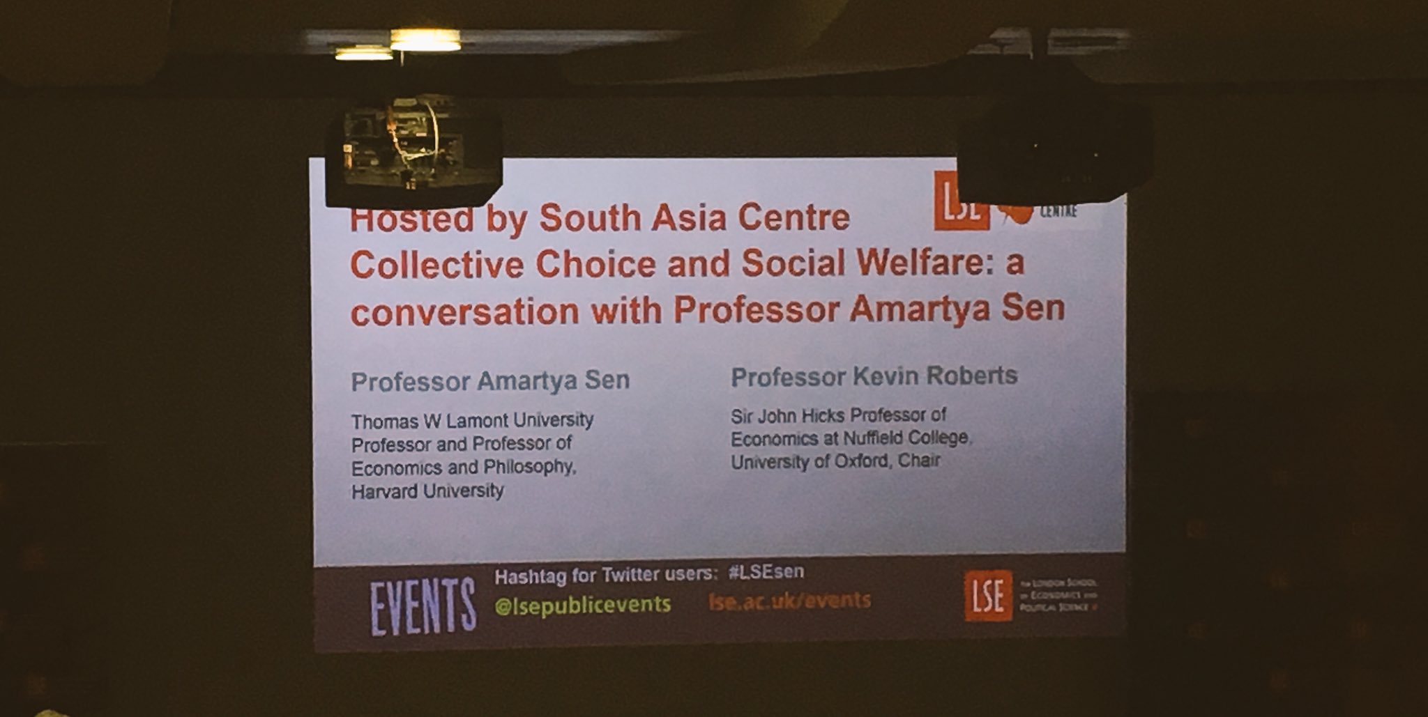 So excited for this talk on collective choice + social welfare with Professor Amartya Sen! #LSEsen https://t.co/XNMKJvh7eE