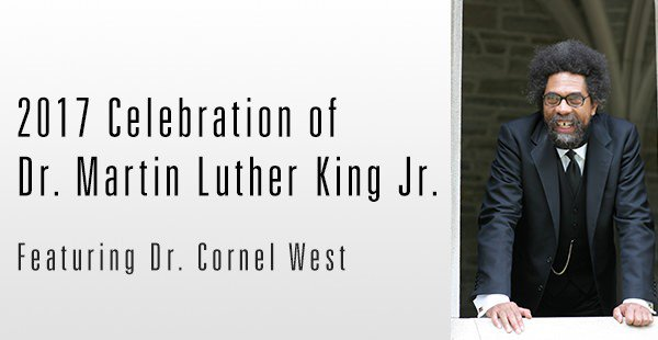 You DEFINITELY don't want to miss Cornel West speak tonight about the legacy of love, truth, and justice left by MLK. 6:30 in BTSU Ballroom! https://t.co/buvU6PsqeJ