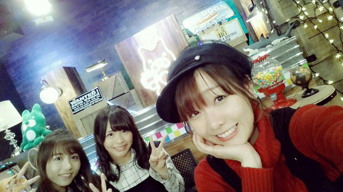 #AbemaTV にてSKE48の木曜 #TheNIGHT  平日なのに一緒に夜更かししてたくさん盛…