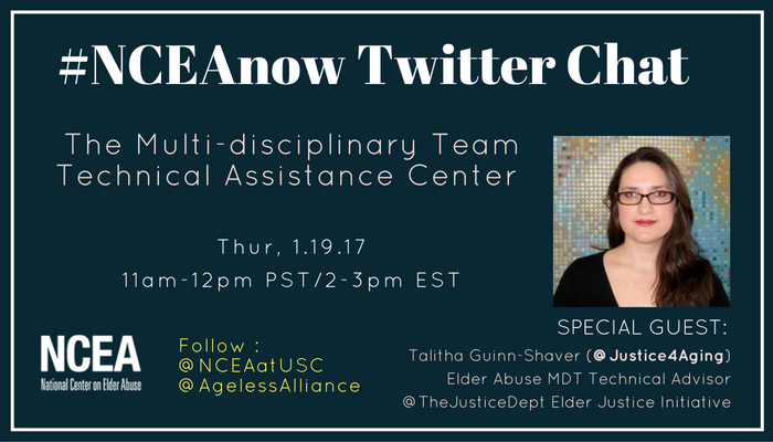 Thumbnail for 1/19/17 #NCEAnow Chat : The Multi-disciplinary Technical Assistance Center
