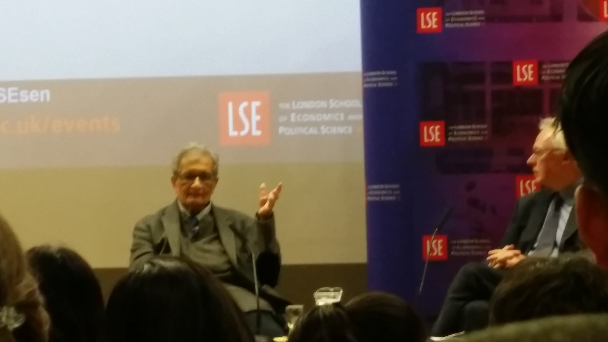 "@AmartyaSen_Econ : ""The thing about low hanging fruit is that they are not as low as they seem"" #LSESen @LSEpublicevents #quoteoftheday https://t.co/TuJFspo1Up"