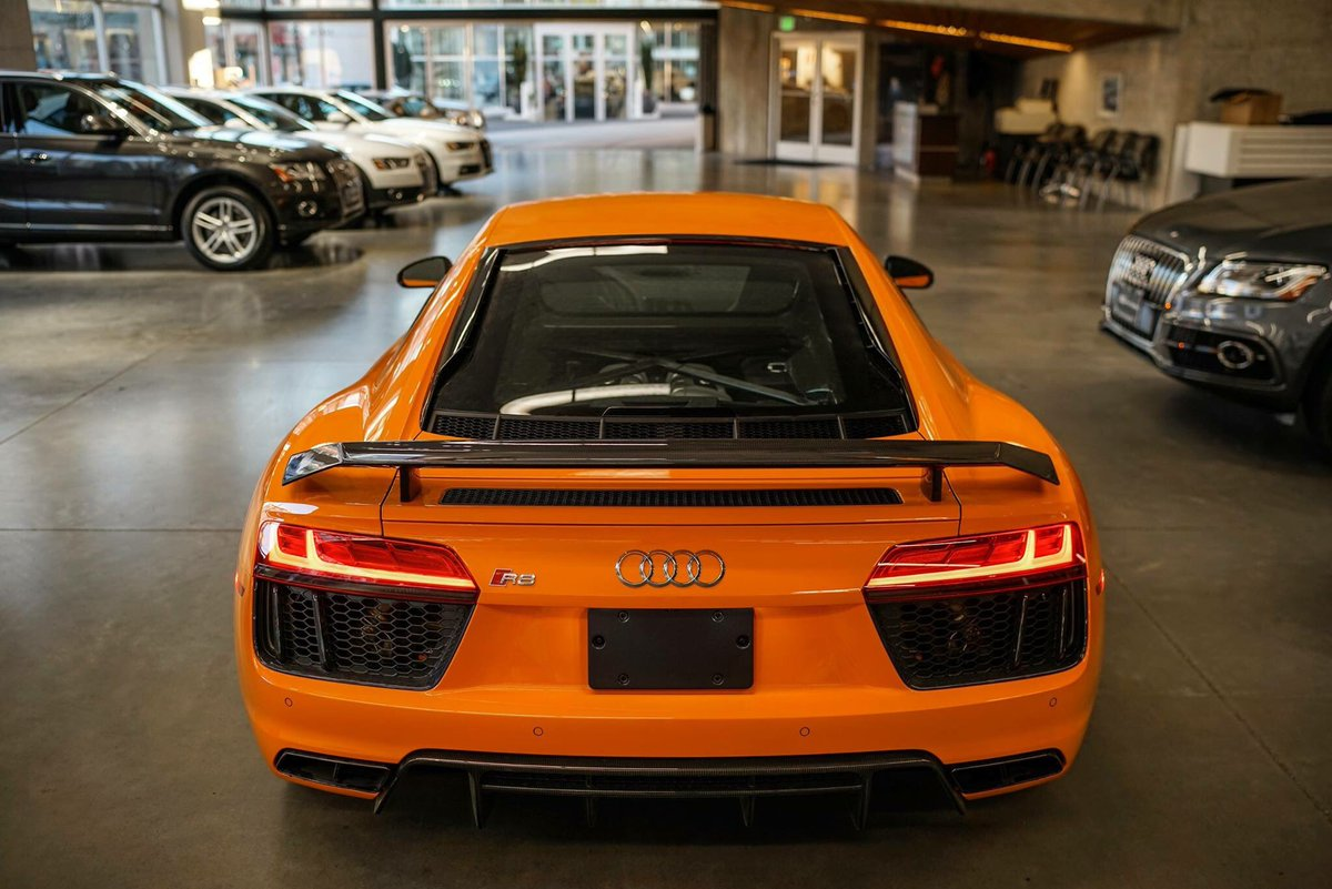 Audi Daily On Twitter Glut Orange Audi R8 V10 Plus By Audiexclusive