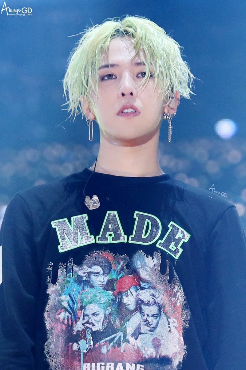 Andrea On Twitter Rip Jiyongs Green Hair It Was Fun While Lasted