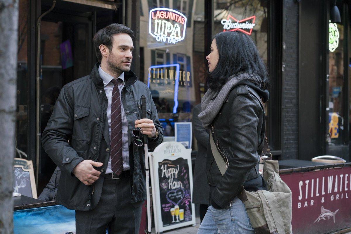 Matt Murdock e Jessica Jones aparecem em nova imagem de Os Defensores...