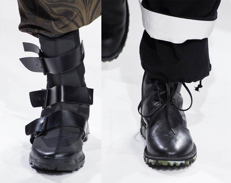 ヨウジヤマモト 2017-18年秋冬メンズをレポート、黒の世界への革新 - 俳優・斎藤工がモデルに …