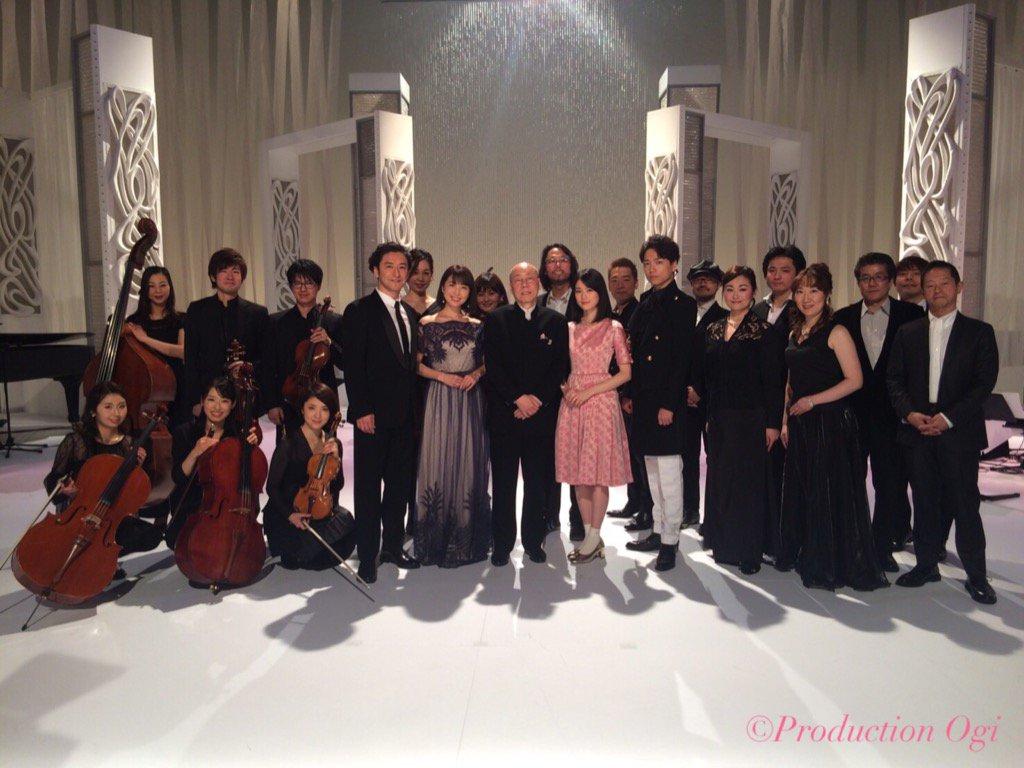 2月4日(土)18時〜の「MUSIC FAIR」で、石丸幹二さんとはデュエットで嬉しい再共演。山崎育…