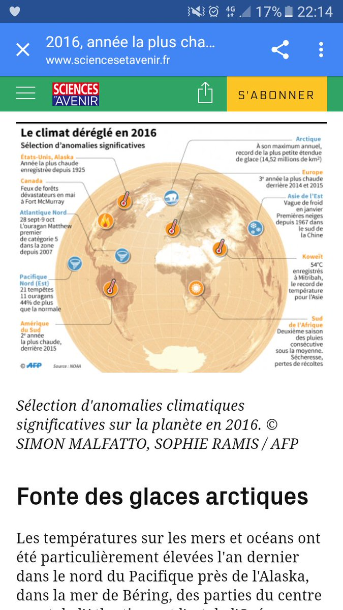 Une selection dramatique d&#39;anomalies significatives #climatechange <br>http://pic.twitter.com/rGdjicKakg