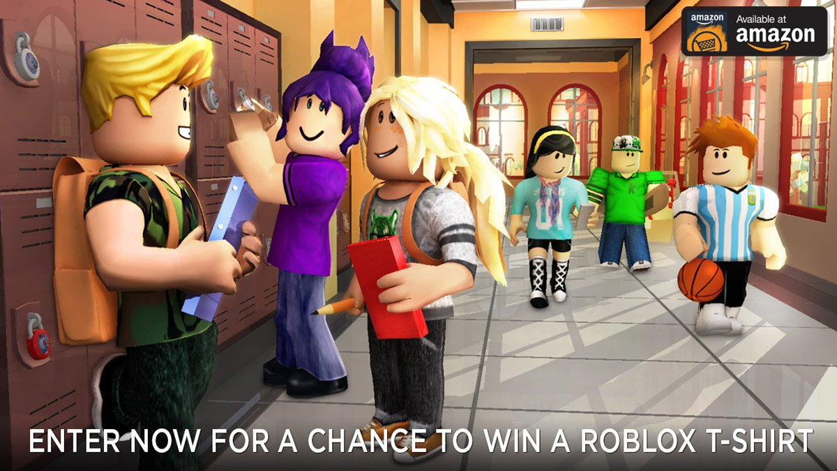 The Amazon Roblox Roblox On Twitter Download The Roblox App On The Amazon Appstore Follow This Link To Enter For A Chance To Win A Roblox T Shirt Https T Co Z1f35oebqz Https T Co Vcuq20grwe