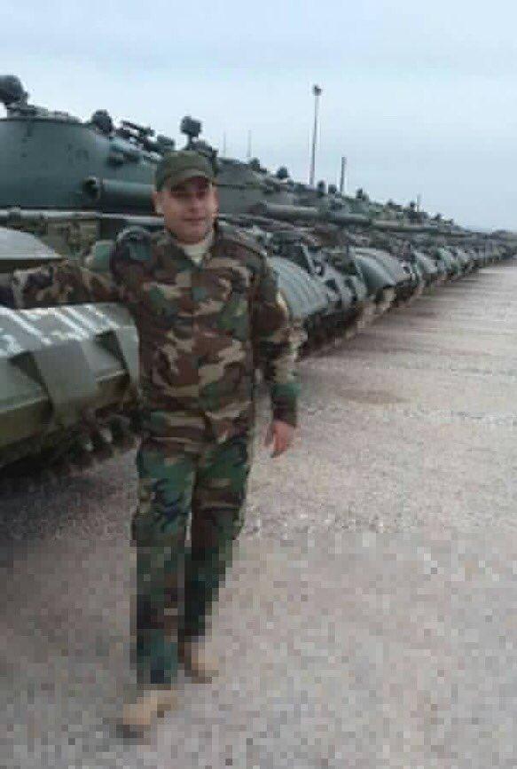 الدبابه T-62 السوريه ودورها في الحرب القائمه هناك  C2kI8wwWEAUG25N