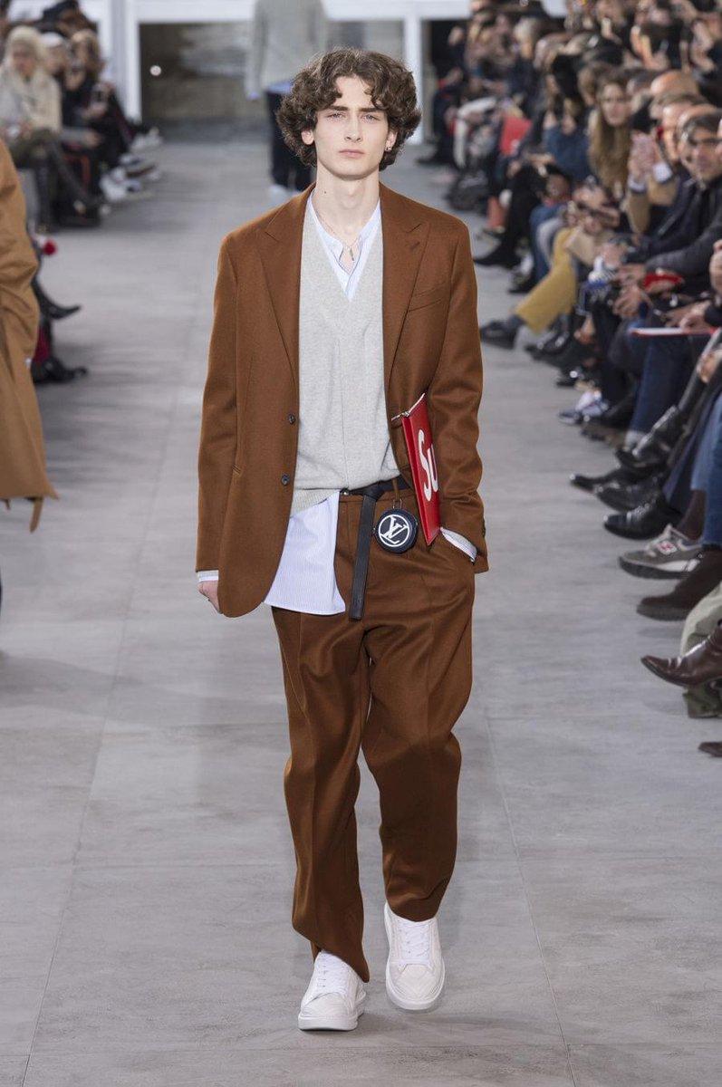 【パリコレ速報】ルイ・ヴィトン17秋冬メンズは、シュプリームとのコラボレーション! casabrut…