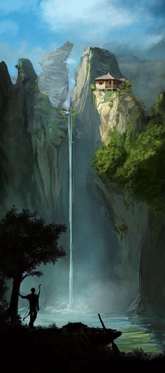 Vacation?  #art #illustration #environment #fantasy<br>http://pic.twitter.com/t88ZV5lfDX