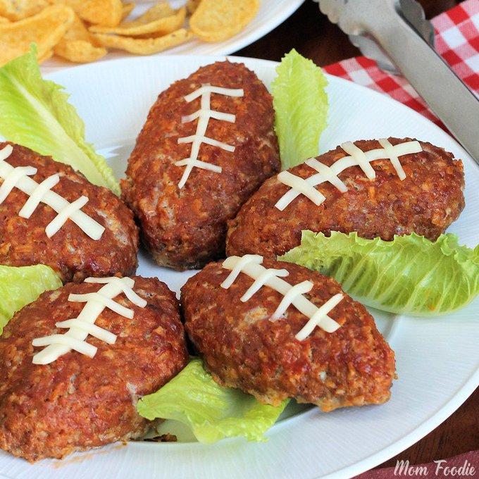 Football Mini Meatloaf Recipe: Easy Football Party Food