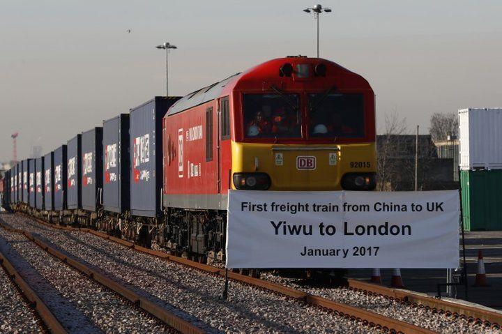 中国からロンドンに貨物列車が到着、「一帯一路」大きく前進 newsweekjapan.jp/stor…