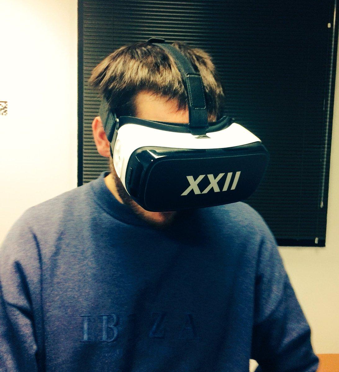 L&#39;ami @romainmonnot de @Wynd_eu est passé chez @XXII_GROUP checker les nouveaux contenus ! #nextstep #VAMR #ibiza #Retail #UX<br>http://pic.twitter.com/fCpsnO3CPu
