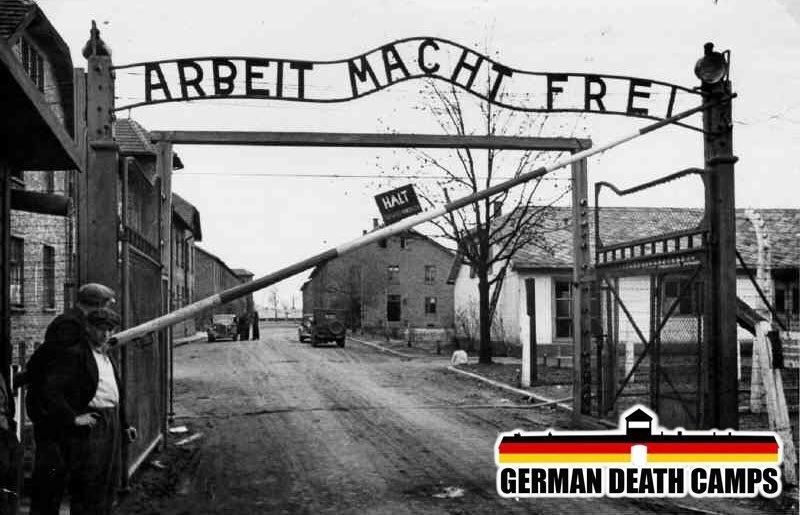 - Co tam napisane nad tą bramą? - Nie wiem, nie znam nazistowskiego.