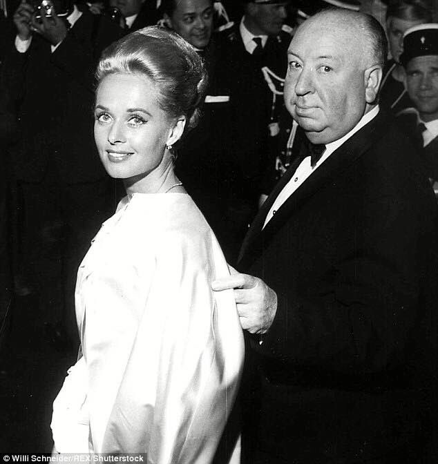 Happy birthday Tippi Hedren.  Here with Alfred Hitchcock.
