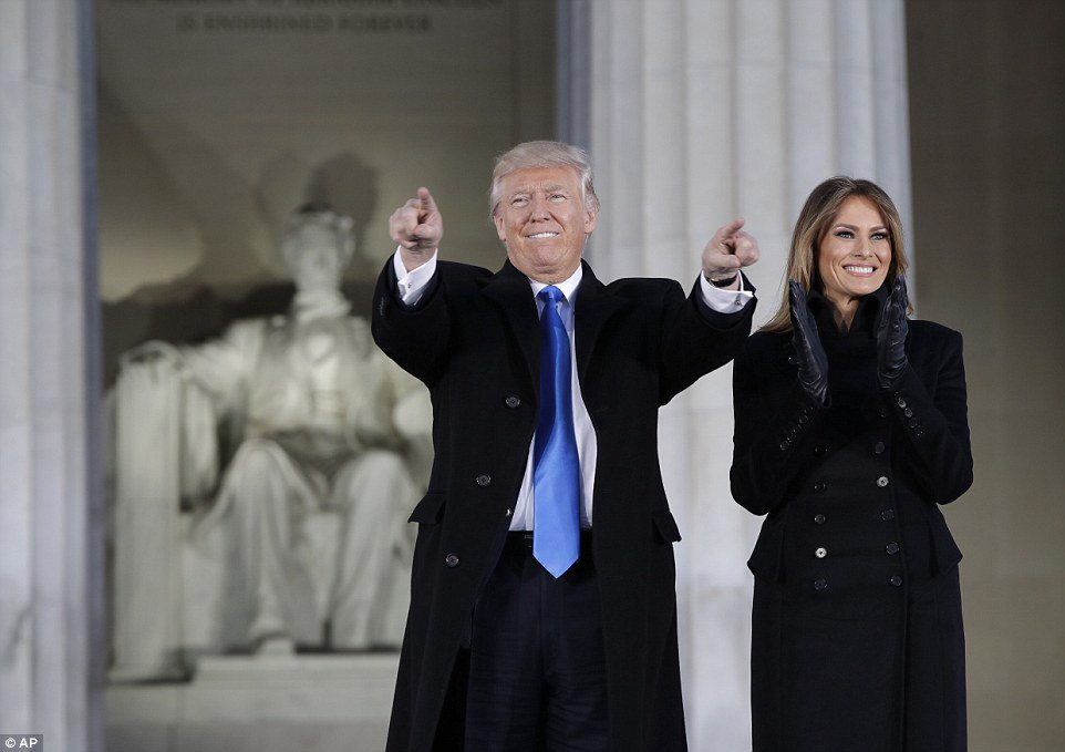 IF YOU  👉Beleive in yourself 👉Work hard 👉NEVER cower  Dreams come true      #TrumpInauguration