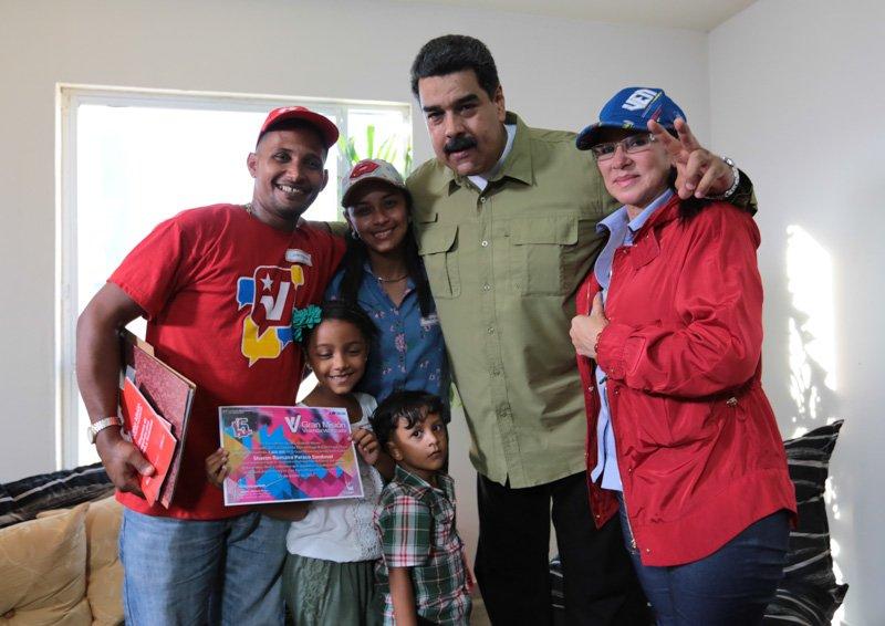 Maduro anunció aumento de la política habitacional para losvenezolanos...