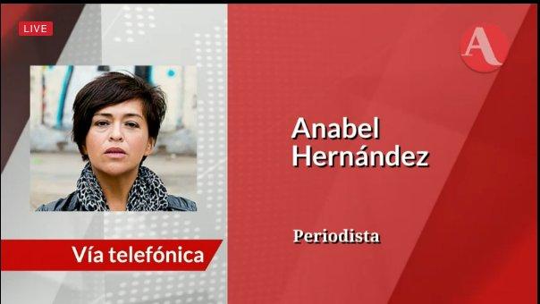 Anabel Hernández, periodista, habla sobre la extradición de #ElChapo a...