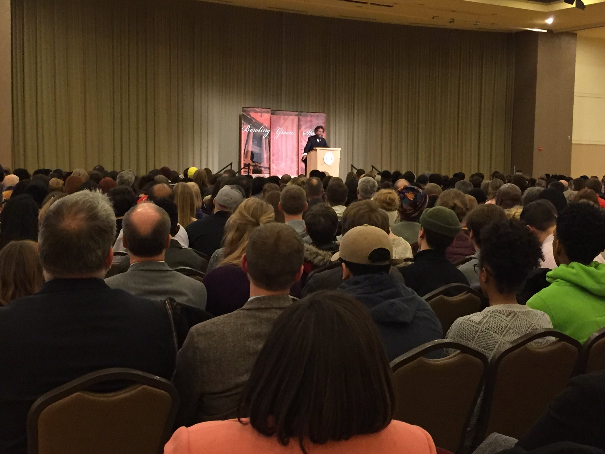 Dr. Cornel West - BGSU Martin Luther King presentation. https://t.co/LUQyAyp7Tt