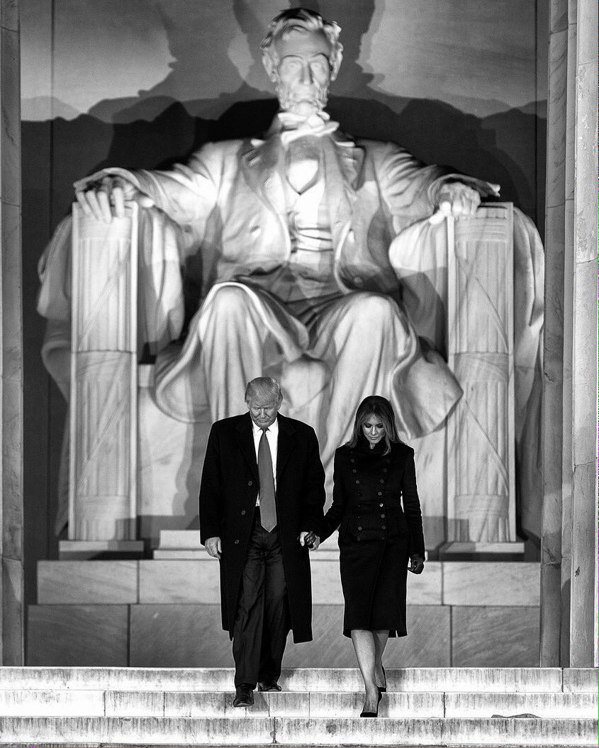 THE ROAD ISN\'T EASY  But God\'s on his side  So are we  TOGETHER we will Make America Great Again    #TrumpInauguration