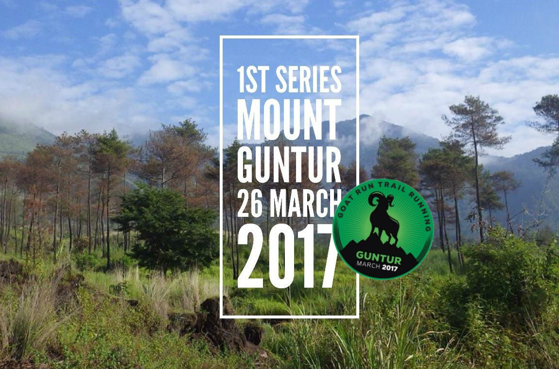 Goat Run - Trail Running Series - #1. Mt. Guntur • 2017
