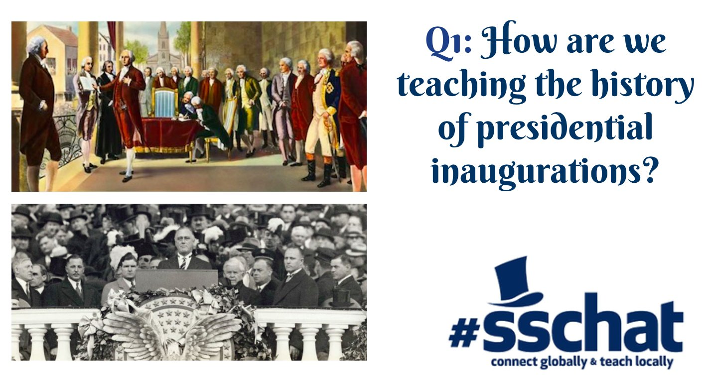 As always, please use #sschat and the Q1, A1 format to help organize our discussion.  Here's Q1! https://t.co/pPU7m25xVm