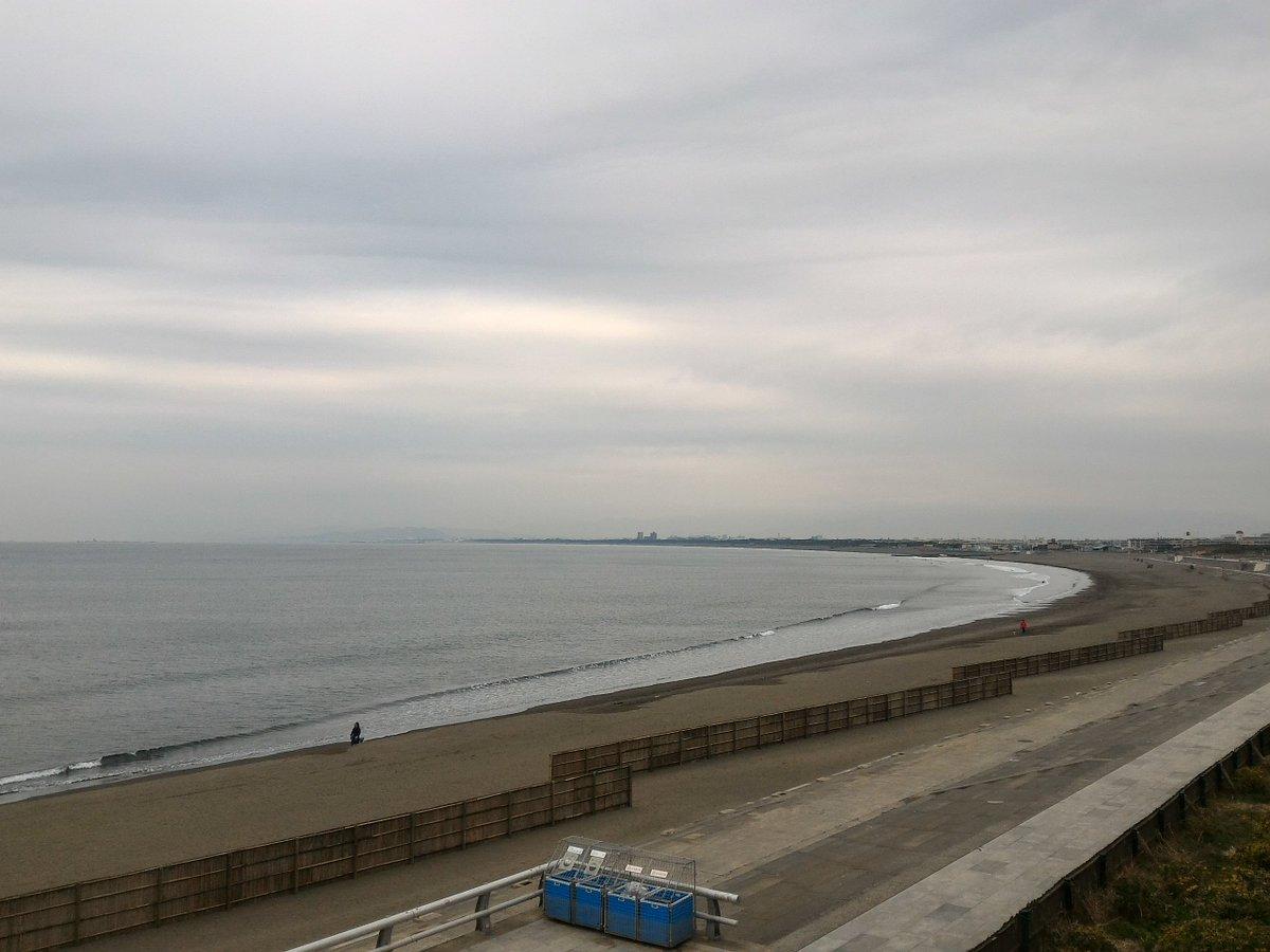おはようございます。江の島周辺はひんやり静かな朝です。雪のところもあるようですね。きょう20日(金)…