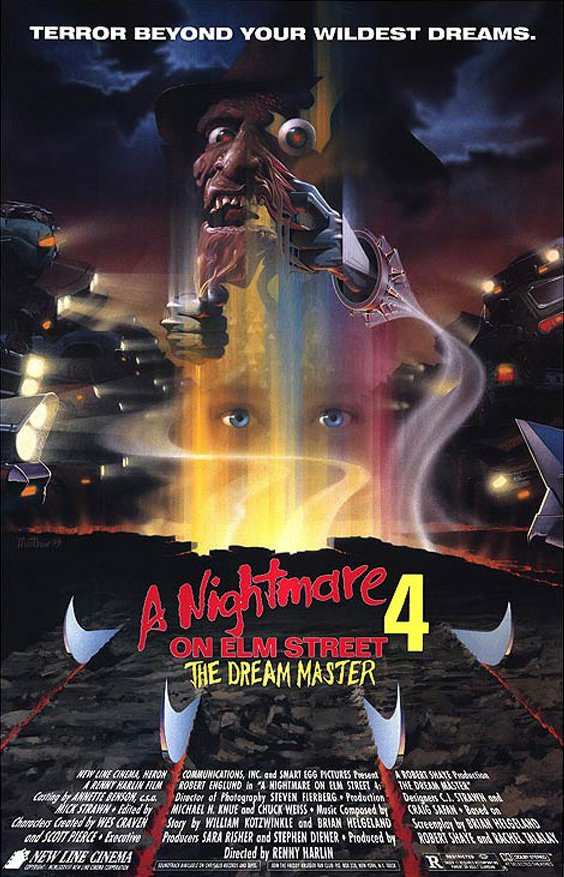 Prowling #Poster of the Day: Renny Harlin&#39;s &#39;A #Nightmare on Elm Street 4: The #Dream Master&#39; (1988) #Horror #FreddyKrueger #Classic<br>http://pic.twitter.com/4cktvb9dot