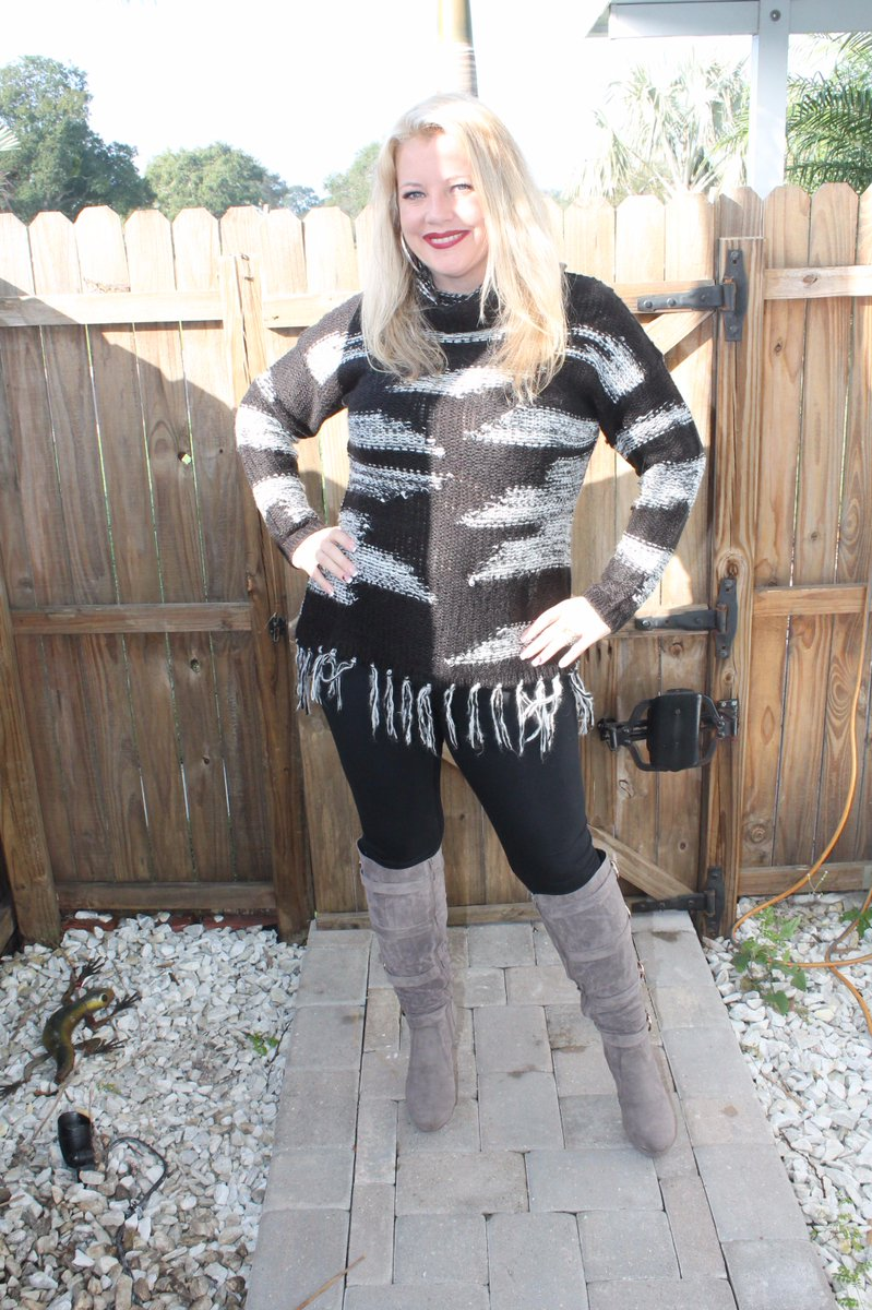 Milf leggings and boots