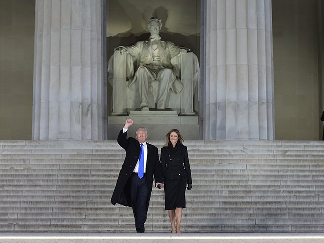 THEY  Ignored him Laughed at him Fought him  And then he won    #TrumpInauguration #LincolnMemorial #WeStandUnited
