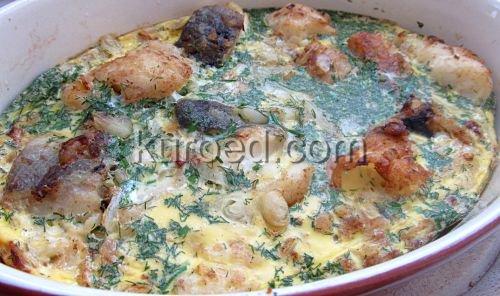 Рыбная запеканка с картошкой рецепт