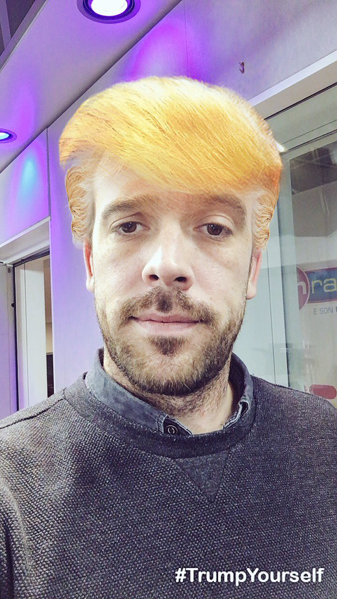 Mikka Trump. 💇🏼‍♂️ #Investiture #BrunoFunRadio https://t.co/dHRVxTVKOk