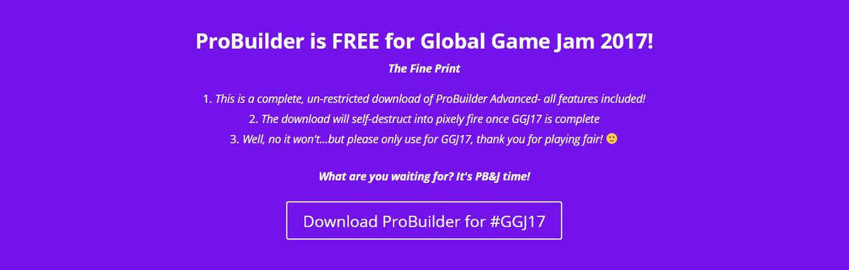 ProBuilder-Dev (Unity) on Twitter: