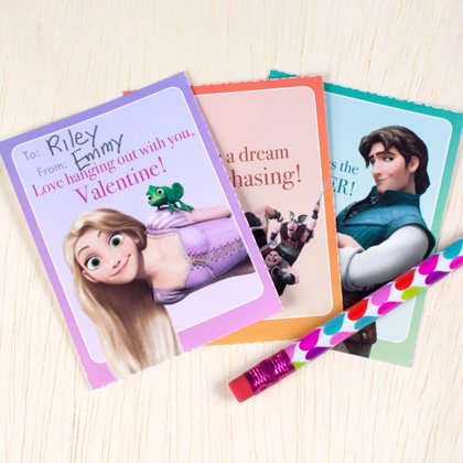 Free Disney Valentines Day Card Printables