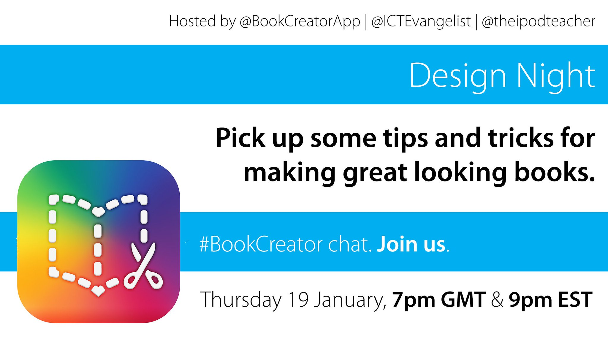 Thumbnail for #BookCreator Chat 1/19/2017 - US
