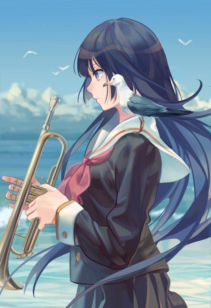 #anime_eupho 愛の告白