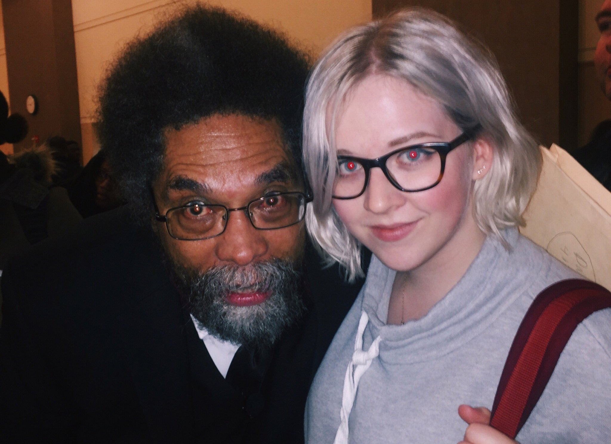 thank you, Dr. Cornel West, for teaching and sharing with us tonight https://t.co/3UkbcZyUbR
