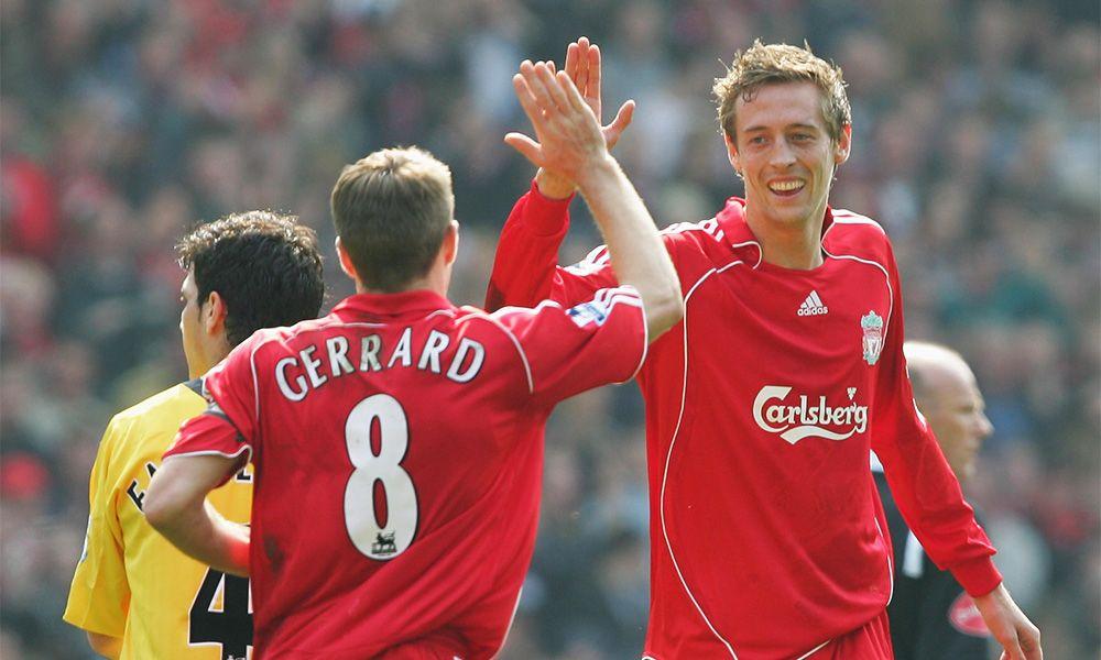 Crouch: Saya penari terbaik Liverpool https://t.co/qNSV8jLYD9 #LFC #LF...
